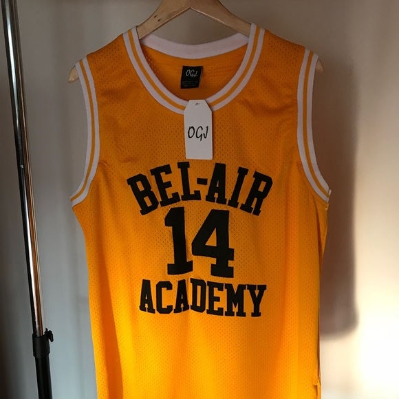 Bel Air Academy Will Smith Jersey